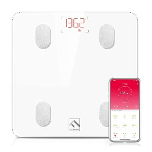 FITINDEX Bluetooth Body Fat Scale - Best Weight Scale for Body Fat: Unlimited users