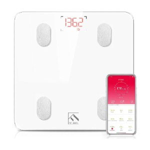 FITINDEX Bluetooth Body Fat Scale - Best Electronic Weight Scale: Unlimited users