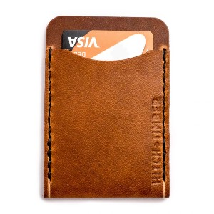 HITCH AND TIMBER FLAT JACKET WALLET - Best Leather Card Holders: American Leather Construction
