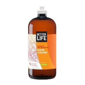BETTER LIFE FLOOR CLEANER - Best Cleaning Solution for Tile Floors: Restores Natural Shine without Fumes