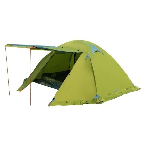 FLYTOP Double Layer Backpacking Tent - Best Two-Person Camping Tents: 4 Seasons Tent