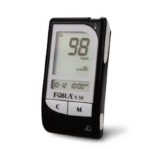 FORA V30a Talking Blood Glucose Meter  - Best Glucometer for Gestational Diabetes: Consistent and reliable performance