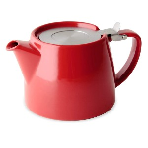 Forlife Stump Teapot with SLS Lid and Infuser - Best Teapot with Infuser: Dishwasher-Safe Teapot