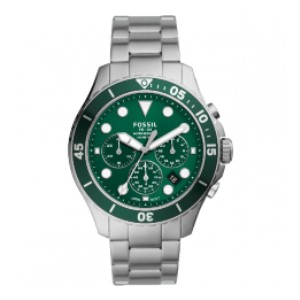 Fossil FB - 03 - Best Waterproof Watches: Gorgeous Green Colour