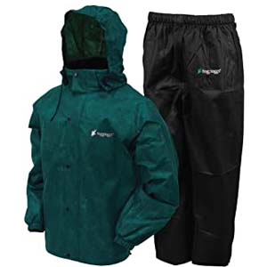 FROGG TOGGS AS1310 Rain Suit - Best Raincoats for Men: Doesn't even weigh a pound!