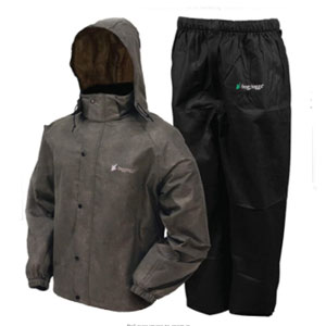 FROGG TOGGS Rain & Wind Suit - Best Raincoats for Fishing: Adjustable Waist and Hood Raincoat
