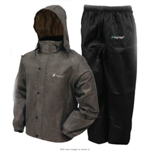FROGG TOGGS All Sports Rain & Wind Suit - Best Raincoat for Boating: Adjustable Raincoat