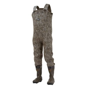 FROGG TOGGS Men's Amphib 3.5mm Neoprene Bootfoot Waders  - Best Waders for Duck Hunting: High-back design