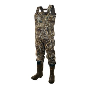 FROGG TOGGS Men's Amphib Bootfoot Waders  - Best Chest Waders for Fishing: Toasty with booties