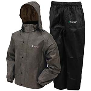 FROGG TOGGS Men's Classic All-Sport Rain Suit - Best Raincoats for Men: Rain suit in a parka style