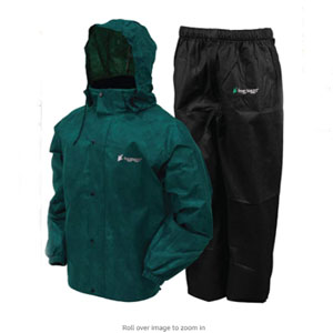 FROGG TOGGS Store Waterproof Breathable Rain Suit - Best Raincoat for Boating: Adjustable Raincoat