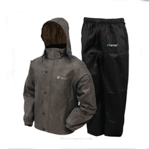 FROGG TOGGS FROGG TOGGS Men's Classic All-Sport Waterproof Breathable Rain Suit - Best Raincoats for Fishing: Breathable Raincoat