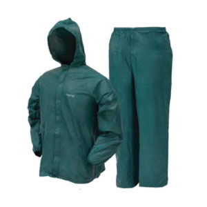 FROGG TOGGS Ultra-Lite2 Waterproof Breathable Protective Rain Suit - Best Raincoats Under $100: It is Breathable and Perfect for Hiking