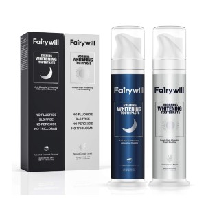 Fairywill Whitening Toothpaste Freshens Breath - Best Whitening Toothpaste for Smokers: Professional Toothpaste Solution
