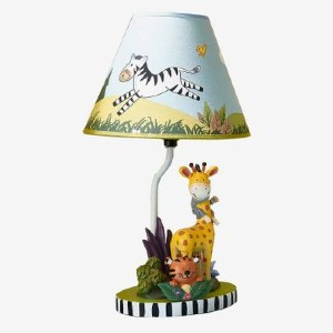 Fantasy Fields Sunny Safari Animals - Best Bedside Lamp: Super kid-friendly