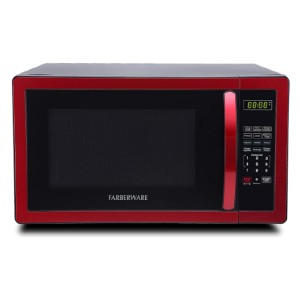 Farberware Classic FMO11AHTBKN 1.1 Cubic Foot Microwave Oven - Best Microwave Under 100: Crystal clear LED display
