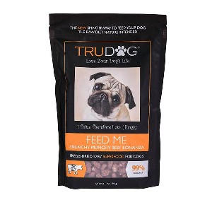 TruDog Feed Me Beef Freeze-Dried Raw Superfood - Best Weight Gainer Dog Food: Supports a Strong Immune System