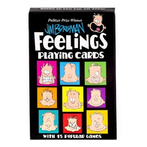 Time Promotions Feelings Playing Cards by Jim Borgman Pulitzer Prize Winner - Best Flashcards for Baby: 15 entertaining games