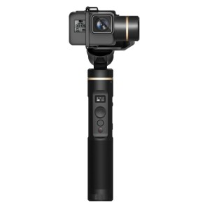 Feiyu Tech G6 3-Axis Stabilized Handheld Gimbal - Best Camera Stabilizers for GoPro: Gimbal Stabilizer with OLED Screen