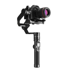 Feiyu Tech AK4000 DSLR Camera Stabilizer Gimbal - Best Camera Stabilizers for DSLR and Mirrorless Cameras: Stabilizer with Extension Rod Support