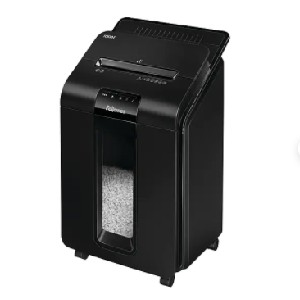 Fellowes AutoMax 100M - Best Paper Shredders for Small Businesses: Bin Full Indicator Simplifies Emptying