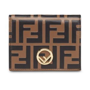 Fendi Monogram Wallet - Best Wallet for Women: Wallet with iconic brand motif