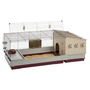 Ferplast Krolik Rabbit Cage - Best Cage for Guinea Pigs: Private living space