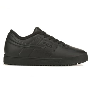 FILA Women's Vulc 13 Slip Resistant Sneaker - Best Safety Shoes for Womens: Sporty Work Shoes