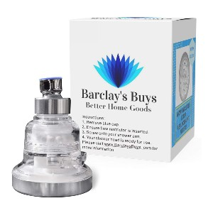 Barclay's Buys Better Home Goods Filtered Shower Head - Best Water Filter Shower Head: Three remarkable settings