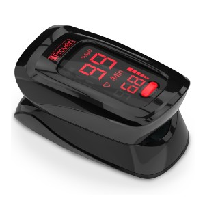 iProven Finger Pulse Oximeter - Best Pulse Oximeter for Exercise: Easy to use