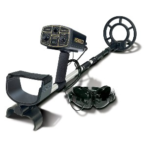 Fisher 1280X-8 Underwater All-Purpose Metal Detector - Best Metal Detector for Beach: Automated Turn-On-And-Go System