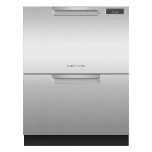 Fisher & Paykel DD24DAX9N 24 Inch - Best Dishwasher for Wine Glasses: Each drawer washes independently
