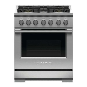 Fisher & Paykel Professional RGV3305N Freestanding Gas Range - Best Ranges for Home Chefs: Craftsmanship in every detail