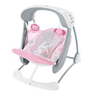 Fisher-Price Deluxe Take-Along Swing & Seat  - Best Baby Swings for Small Spaces: Portable and foldable