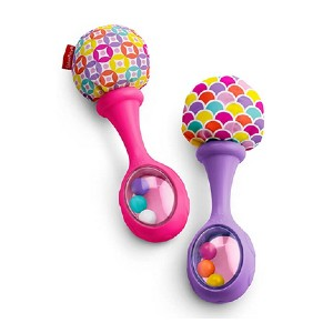 Fisher-Price Rattle 'n Rock Maracas - Best Musical Toys for Babies: Simple and safe
