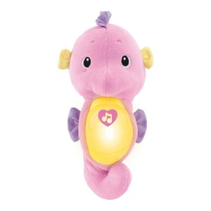 Fisher-Price Soothe & Glow Seahorse - Best Musical Toys for 6 Month Old: Dance or calm down? Both!