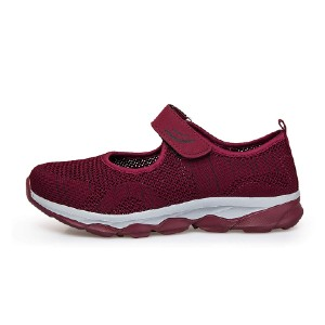 FitVille Slip-on Cloud Weave 20 - Best Slip-On Sneakers for Walking: Non-Slip Slip-On Shoe
