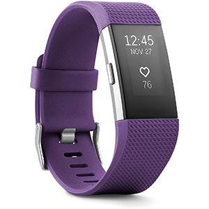 Fitbit Charge 2 Health and Fitness Tracker  - Best Fitness Trackers: Maximize Your Workouts with Stunning Charge 2
