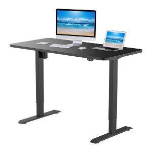 Flexispot EC1 Standing Desk 48 x 30 Inches  - Best Electric Standing Desk Under 500: Smooth Protecting Edges