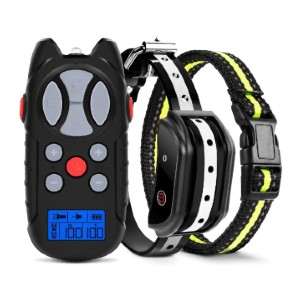 Flittor Shock Collar for Dogs - Best Dog Training Collar for Large Dogs: Memory for Settings Makes It Easy to Operate