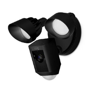 Ring Floodlight Cam - Best WiFi Security Cameras Outdoor: Light On to Ward Off Housebreaker