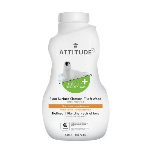 ATTITUDE Floor Cleaner - For Tile & Wood Floors - Best Cleaning Solution for Tile Floors: Biodegradable and Hypoallergenic