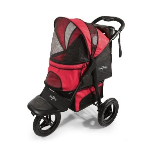 Gen7Pets Folding Jogger - Best Dog Strollers for Running: Front Convertible Wheel Swivels on Smooth Surfaces