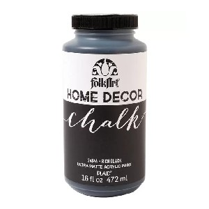 FolkArt Home Decor Chalk 16oz - Best Chalk Paint for Crafts: Great for Furniture, Cabinets, Walls
