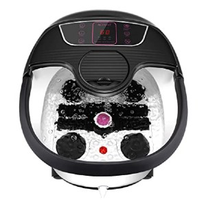 ACEVIVI Foot Spa Bath Massager  - Best Foot Spa for Aching Feet: Infrared light for sterilization