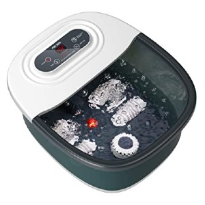 Niksa Foot Spa Bath Massager - Best Foot Spa for Pregnancy:  Add your favorite spa items