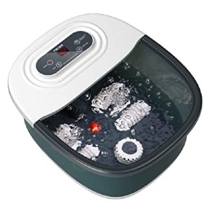 Niksa Foot Spa Bath - Best Foot Spa for Cracked Heels:  Add your favorite spa items