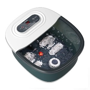 Niksa Foot Spa Bath Massager  - Best Foot Spa for Ankle Pain: Add your favorite spa items