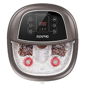 RENPHO Motorized Foot Spa - Best Foot Spa for Diabetics: Based on your needs
