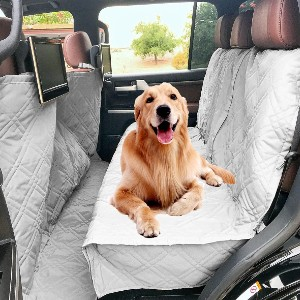 Formosa Covers Store Deluxe Quilted and Padded Dog Car Seat Cover  - Best Dog Car Seat Covers: Perfect Seat Cover